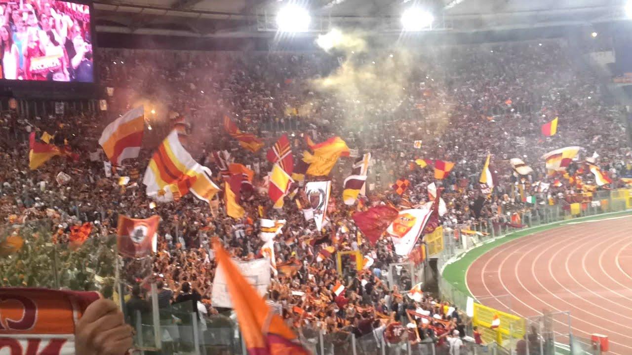 As Roma Ultras Curva Sud 2012 26 08 12 Youtube
