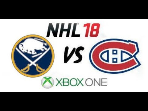 NHL 18 - Buffalo Sabres vs. Montreal Canadiens - Xbox One