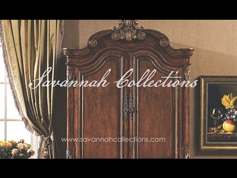 Victorian Furniture Armoire by Savannah Collections - Thomasville