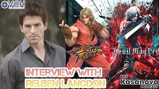 Devil May Cry 5 EXCLUSIVE Interview with the Voice of Dante: Reuben Langdon on The Kasanova Podcast