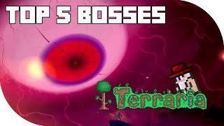 Repeat youtube video Top 5 Bosses in Terraria! (PC, CONSOLE, MOBILE) PRE 1.3