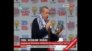 Başbakan Erdoğan   AK Parti Eskişehir Mitingi  - 7 Mart 2014