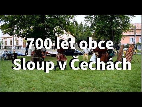700 let obce Sloup v Čechách