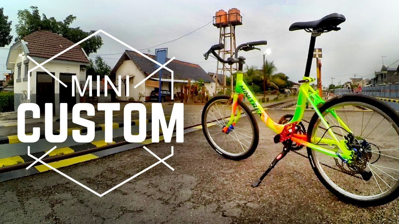 Custom Sepeda Mini Trek Indonesia Review Sensasi Gowes Minitrek Youtube