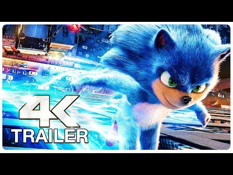 SONIC THE HEDGEHOG Trailer (4K ULTRA HD) NEW 2020