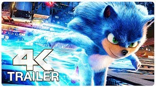 SONIC THE HEDGEHOG Trailer (4K ULTRA HD) NEW 2019