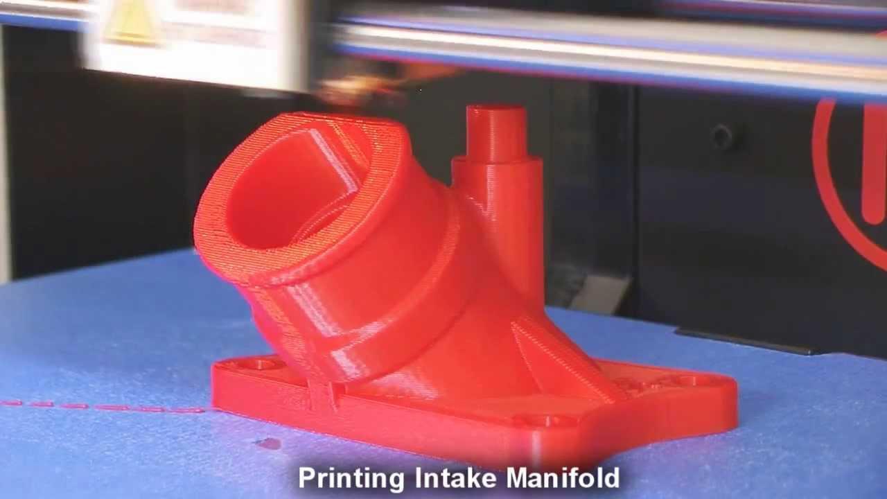 Printing Intake Manifold Youtube