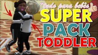🔴 SUPER PACK TUDO PARA BEBES! cabelos, roupas, skin e acessórios - The Sims 4