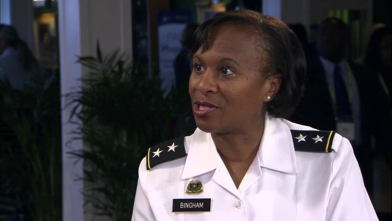 Major General Gwen Bingham Interview - MPC 15 - YouTube