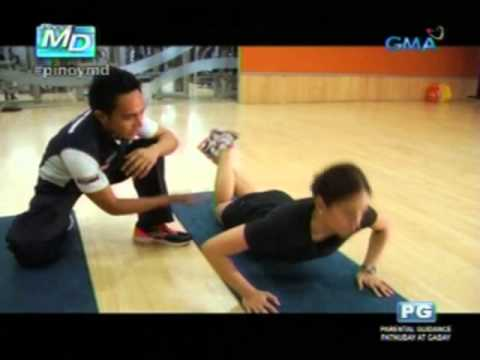 Pinoy MD: 5-minute exercises with Kapuso actress Bettinna Carlos