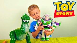 Видео для детей с игрушками из мультфильма История Игрушек. Toy Story toys(Игрушки из мультика История Игрушек Toy Story в этом видео для детей очень нравятся детям, ведь они именно такие..., 2015-12-16T08:52:27.000Z)