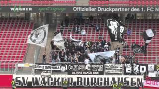 1. FC Nürnberg II   - SV Wacker Burghausen (Regionalliga Bayern 15/16, 26. Spieltag)