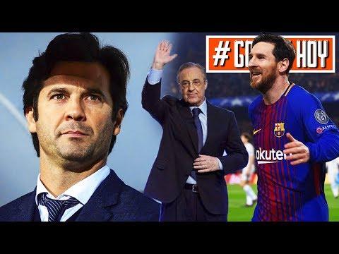 Nuevo entrenador FIJO del Real Madrid I Messi abre paso a Malcom I #goldehoy