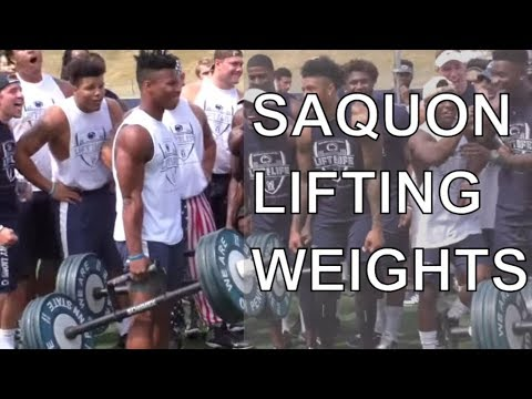 Watch Saquon Barkley compete in Lift for Life | Penn State football