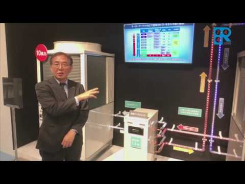 Panasonic's new 30-HP CO2 system