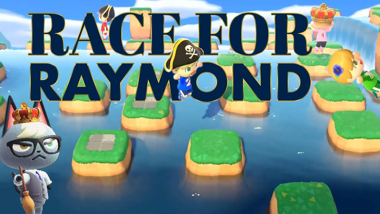 Race For RAYMOND! AbdallahSmash vs. WilbosWorld vs. Blucario vs. AkistraTV! Season 2 Race 02