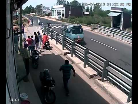 live accident in mukerian