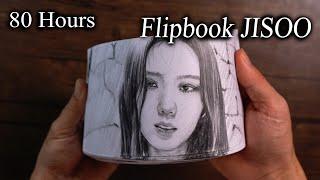 JISOO - 'How You Like That' Flipbook - DP ART DRAWING