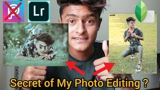 How To Edit Photo In Mobile   Lightroom And Snapseed Editing Tutorial
