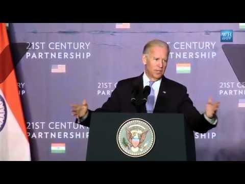 Video Remarks By Vice President Biden on U S    India Partnership
