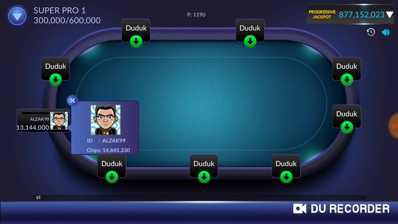 Idn Poker Online Player Siluman Tanpa Nama Di Kelas Super Pro Youtube