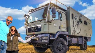 Extreme MAN Expedition Truck FULL TOUR ► | Live and Give 4x4