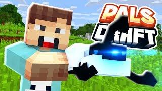 FINDING A PORTAL GUN! | PalsCraft #1