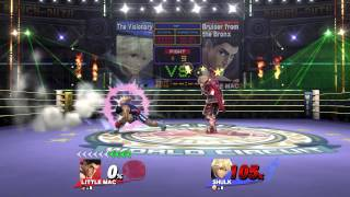 How Little Mac players be in Smash 4