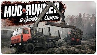 DESTROYING Giant Off Road Mud Runner Trucks!   New SpinTires MudRunner Gameplay
