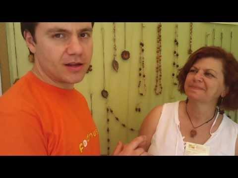 Κοσμήματα από Κουκούτσια & Σπόρους ~ Κουβέντα με Λυγία
