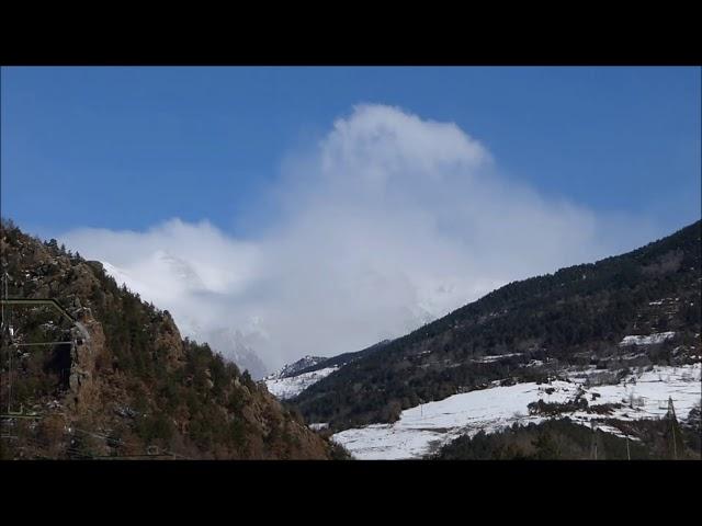 Torb fort als cims de la Vall de Ribes - Ribes de Freser - Febrer 2018