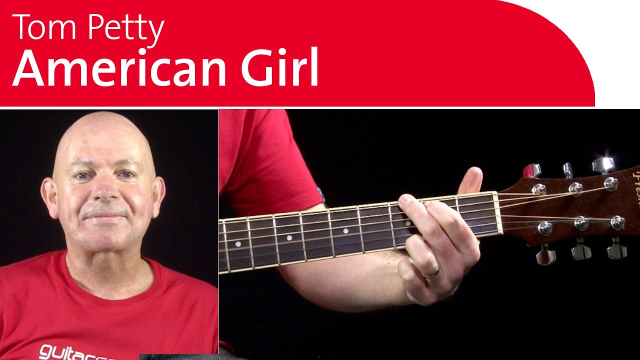 American Girl Guitar Lesson Acoustic Strumming Introduction
