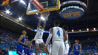 Recap: Prince Ali, No. 21 UCLA men's basketball show no mercy in exhibition game against New York...