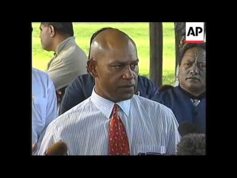 FIJI:  GEORGE SPEIGHT PLANS TO RELEASE HOSTAGES