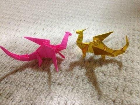 簡単 折り紙 折り紙 折り方 恐竜 : youtube.com