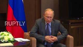 Russia: Putin and Moldovan President Dodon discuss Transnistria conflict ahead of CIS summit