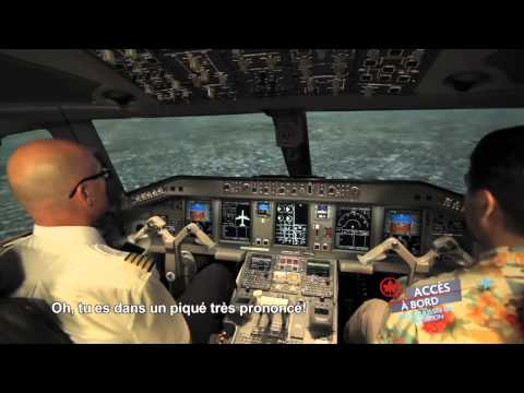 Accès à bord d'Air Canada : La formation des pilotes