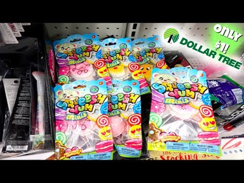 $1 LICENSED SQUISHIES AT DOLLAR TREE!