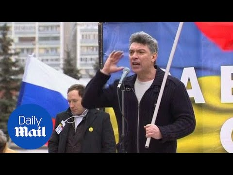 Nemtsov gives impassioned anti-Putin speech before death - Daily Mail