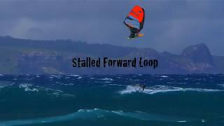 How to : Stalled forward Loop with Ricardo Campello #windsurfing #windsurf #howto