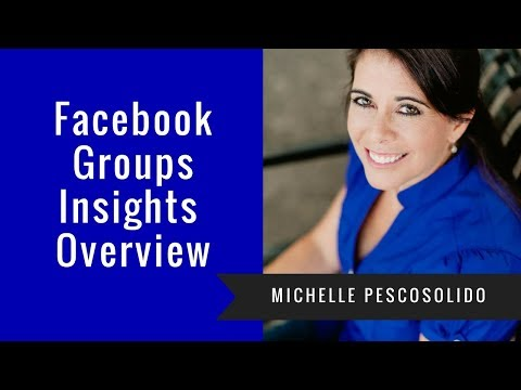 New Facebook Group Insights Overview
