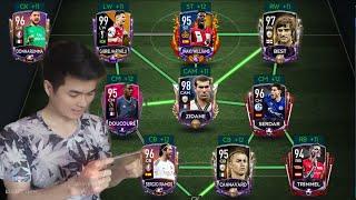 [FIFA MOBILE] REVIEW ĐỘI HÌNH ĐÁ VS ATTACK VÀ H2H TRONG FIFA MOBILE