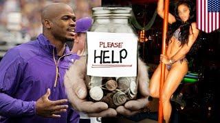 NFL player Adrian Peterson, ginamit ang charity funds para sa isang orgy!