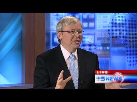 PM CHAT AT NINE NEWS DARWIN