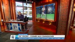 Former MLB Commissioner Fay Vincent Weighs in on Pete Rose's Lifetime Ban From MLB - 12/15/15