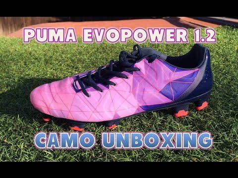 8dc902465a02 Puma evoPOWER 1.2 Camo - Unboxing - YouTube