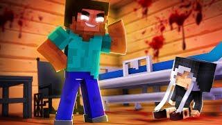 Minecraft: HELLO NEIGHBOR - O HEROBRINE ASSASSINOU A MIA NO HOSPITAL | EP 59