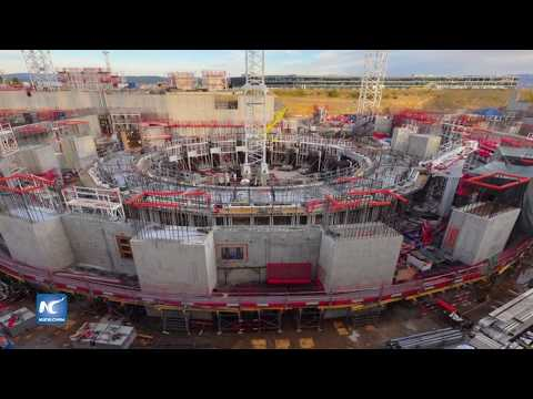 Reactor experimental ITER, al 50 por ciento de su construcción