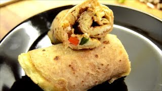 Omelet Roll -egg Wrap Roll- Healthy Brunch Idea - Lunch Box Idea For Kids