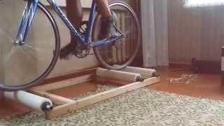 роллерный велостанок своими руками